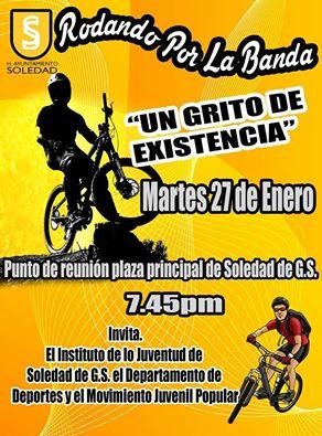 Sortie vélo mardi 27 janvier en soutien au projet