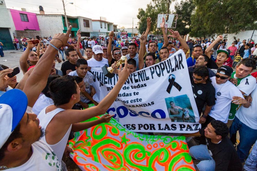 Proyecto del Movimiento Juvenil Popular, San Luis Potosi, Mexico