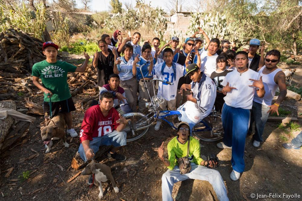 Con los Jimenez 13 en El Cedral